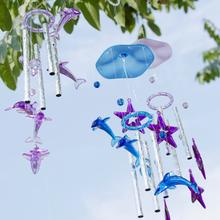 Творческий имитация воды кристалл колокольчик мужской и женщины сырье фестиваль подарок японский pastoral ветер колокол спальня балкон комната брелок ворота украшения