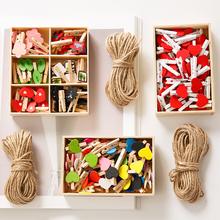 Милый творческий деревянные наборы коробка наряд альбомы бить стоять получить открытка фото клип пеньковая веревка любовь дерево дерево клип