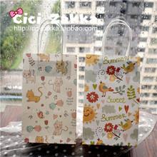 Китти птицы s подарок бумажный мешок / бумажная упаковка мешок / в руке мешок /GIFT BAG/ детский сад большой мешок подарков