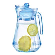 Luminarc/ konami элегантный лед голубой стекло утконос холодная вода горшок 1.3L франция галстук-бабочка и стрелы