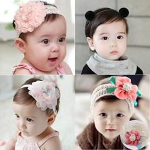 Девочки заставка корея принцесса дикий ребенок головной убор младенец младенец 0-12 месяцы ребенок заставка девушка новорожденных