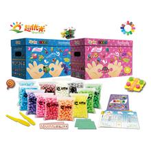 Интерес отлично метр магия DIY кукуруза подарок 1600 зерна 12 цвет независимости наряд детей руки работа собранный головоломка игрушка