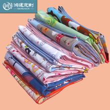 Ребенок хлопок небольшой одеяло детский сад ребенок одеяло один малый хлопок ребенок мультики милый дети наборы фиксированной сделать
