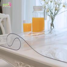 Мягкий стекло PVC скатерть геометрическом горячей масло одноразовый пластик кофейный столик подушка обеденный стол подушка прозрачный пластиковый подушка кристалл доска