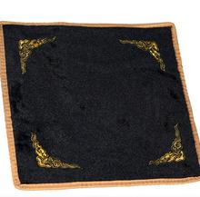 Цянь элегантный ювелирные изделия нефрит устройство счетчик ткань фланель черно-белое обе стороны аксессуары подарок шоу ткань количество жемчужина ткань практический смотреть товары ткань