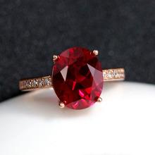 Овальный руби кольцо женщина голубь кроваво-красный турмалин цвет 925 серебро 925 пробы мозаика цвет драгоценный камень ювелирные изделия статья чтобы жить