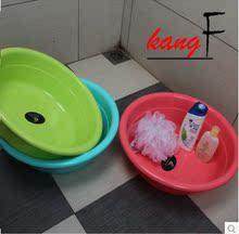 Умывальник больше и толще пластик умывальник прачечная бассейн новорожденный ребенок ребенок небольшой мыть чаша кухня мыть блюдо бассейн