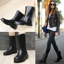 DR весна трубка сапоги женщина для взрослых вода обувной мода водонепроницаемый обувной желе клей обувной обувной скольжение следующий сапоги женщина