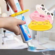 9.9 бесплатная доставка корея бездельник автоматическая сжатие зубная паста устройство экструзия устройство япония творческий домой мыть использование отрицать
