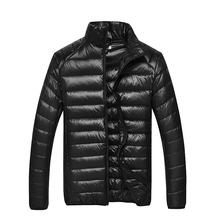 В обратных сезон осенью и зимой мужской тонкий куртка теплый молодежь легкий вниз мужской одежды пальто на открытом воздухе легкий зазор