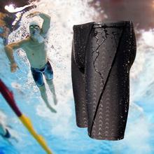 Летучая рыба плавки плавать брюки мужской длинный пятый специальность быстросохнущие купальный костюм гоночный движение большой двор плавание наряд для взрослых спа