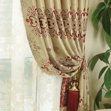 Южная сюань павильон сгущаться оттенок занавес хлопок материал сделанный на заказ спальня эркер гостиная этаж окно затенение конечный продукт занавес ткань пряжа