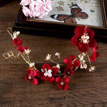 Невеста бутон головной убор корейский горный хрусталь кружева цветы цветок оголовье выйти замуж свадьба тень этаж моделирование аксессуары статья