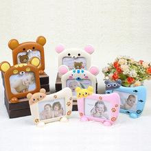 Творческий подарок 5 дюймовый пять карты тонг сюн счастливый кот фаза полка ребенок подарок ребенок милый фоторамка
