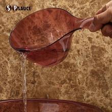 Япония SP SAUCE ванная комната вода ковш совок вода ложка пластик утолщённый воды ложка сковорода ребенок шампунь купаться ложка