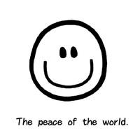 我的愿望是世界和平丶LOGO