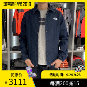 THE NORTH FACE GTX DENIM COACH JACKET TNF 限定牛仔教练夹克