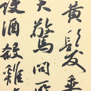 Song fenghua famous calligraphy taohuayuan notes handwriting