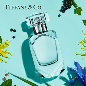 Tiffany & Co./蒂芙尼倾心女士淡香水花香调香氛钻石瓶身官方正品