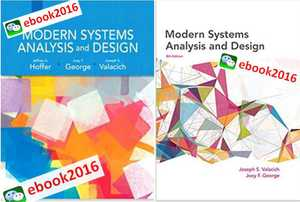 Modern Systems Analysis and Design 7th/8th/题库
