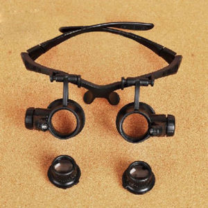Worldwide 1pc 20x Magnifier Magnifying Eye Glasses Loupe Len