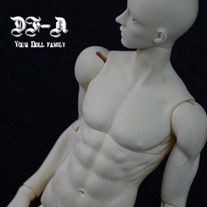 【卡卡】BJD/SD娃娃 DF-A 70cm叔叔 素体 调色身体 luts/LM