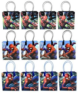 12pcspiderman goodie bags partfavorbags giftbags 12 pcs