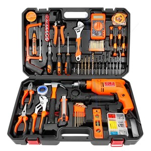 Adali household electric drill hand tool set hardware