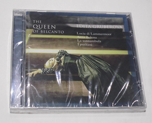The Queen of Belcanto Gruberova 美声歌剧女王 格鲁贝洛娃 CD