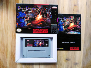 SFC SNES 盒装游戏卡 King of Dragons 龙王战士 PAL欧版