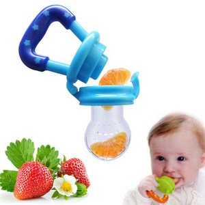Portable Baby Infant Food Nipple Feeder Silicone Pacifier Fr