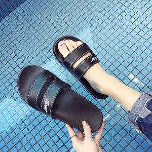 Indoor casual slipper female outer wear versatile flat botto