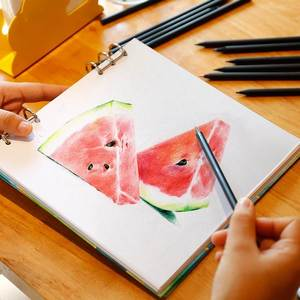 Loose-leaf removable drawing book oil color lead children's