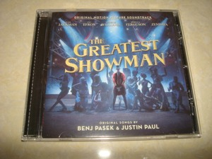 马戏之王 The Greatest Show.man 原声 OST 2017CD