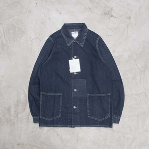 四季现货 VISVIM SS SECTION GANG COVERALL DAMAGED牛仔夹克18SS