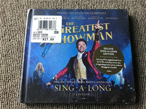 (M)马戏之王 The Greatest Showman 2CD