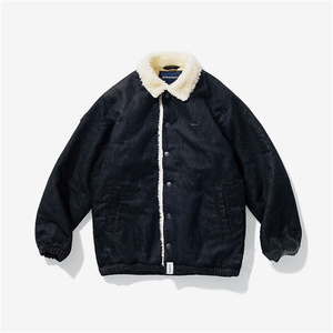 DESCENDANT DCDT COLLIER DENIM JACKET 羊羔绒 男女牛仔夹克外套