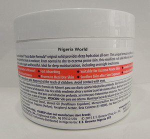 Nigeria World Palmer's Cocoa Butter Formula Body Cream 200ml