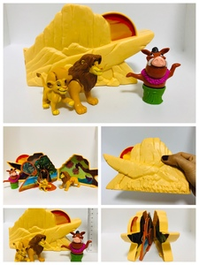 Polly Pocket Lion King Pride Rock 波利口袋 狮子王 超大号