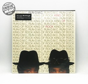 【独音唱片】说唱 Run-D.M.C.– King Of Rock 12寸黑胶LP EU版