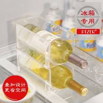 Collect the modern simple refrigerator home creative wine rack refrigerator containing layer rack racks to collect artifacts