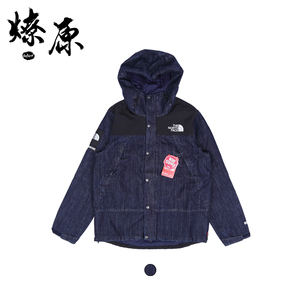 Supreme x The North face denim 15SS 联名TNF 丹宁牛仔夹克外套