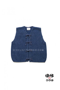 日本代购 Nigel Cabourn woman × Closed - RESQUE VEST 背心