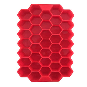 Color Random 37 Ice Cubes Honeycomb Ice Cream Maker Form DIY