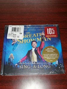 原声3954M未拆  2CD  The Greatest Showman 马戏之王 配乐