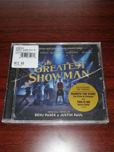 原声3955M未拆CD      The Greatest Showman 马戏之王