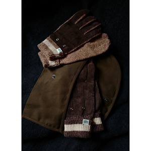 U.Sage FW20 (USAGE) Wool Leather Gloves  羊毛配皮可触屏手套