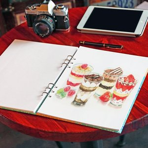 loose-leaf detachable sketchbook color lead painting ske