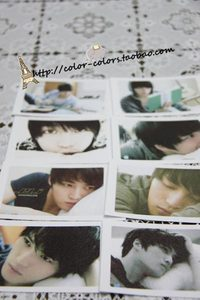 【58包邮】东方神起/JYJ 金在中collectioncard LOMO卡片 J组