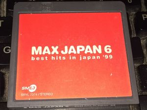 MAX JAPAN 6  best hits in japan99R版MD